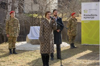 Директор Музея Л.С. Ярыгина на вечере памяти И.С. Ярыгина