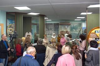 На экскурсии в Музе Ивана Ярыгина